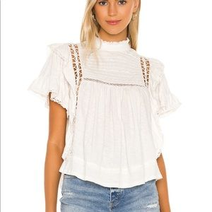 Free People Le Femme Tee Size M
